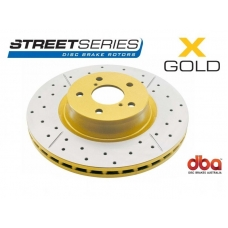 Тормозной диск DBA X GOLD 2309X Nissan 350Z Auto , Murano /Infiniti G35 M35/45, задний