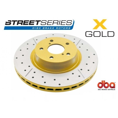 Тормозной диск DBA X GOLD 793X Toyota Land Cruiser PRADO / Lexus GX470/FJ Cruser задний