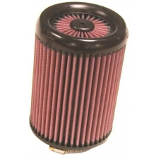 Фильтр нулевого сопротивления универсальный K&N посадочный d=76mm, под Carbonio RX-2820 X-Stream